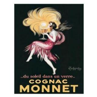 Cognac Monnet Print