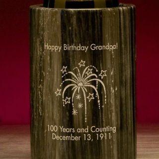 Engraved Celebration Marble Wine Cooler