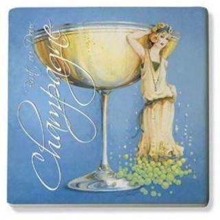 Champagne Lady Trivet